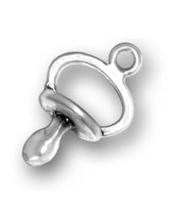 Sterling Silver Baby Pacifer Charm