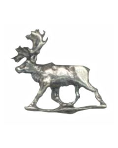 Sterling Silver Caribou Charm