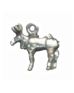 Sterling Silver Moose Charm AA-1506