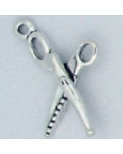 Sterling Silver Pinking Shears Charm