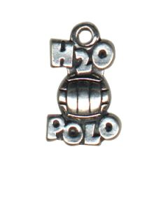 Sterling Silver Water Polo Charm