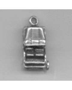 Sterling Silver Car Jeep Charm C-069