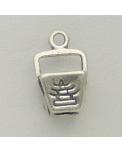 Sterling Silver Chinese Take Out Charm