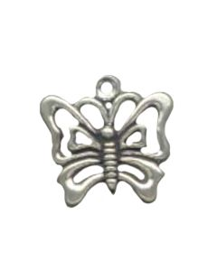 Sterling Silver Butterfly Charm CC-1574