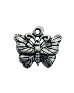 Sterling Silver Butterfly Charm CC-1576