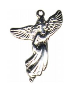 Sterling Silver Angel Charm CC-1585