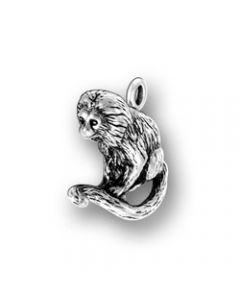 Sterling Silver Monkey Charm  CCC-1772