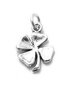 Sterling Silver Four Leaf Clover Charm D-118