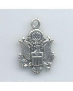 Sterling Silver Official Us Seal Charm