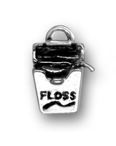 Sterling Silver Dental Floss Charm