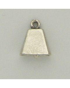 Sterling Silver Cow Bell Charm
