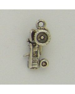 Sterling Silver Tractor Charm E-165