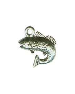 Sterling Silver Fishing Charm: Trout