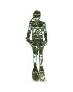 Sterling Silver Scuba Diver Charm  EE-1667