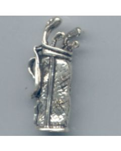 Sterling Silver Golf Charm: Bag G-215