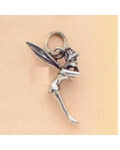 Sterling Silver Fairy Charm: Tinkerbell