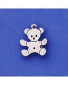 Sterling Silver Teddybear Bear Charm: Mini GG-915