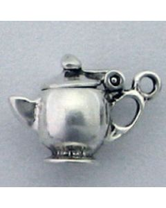 Sterling Silver Teapot Charm H-269