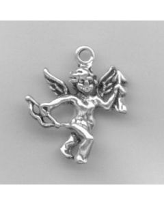 Sterling Silver Cupid Charm HH-923