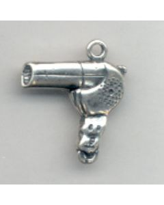 Sterling Silver Hair Dryer Charm HH-927