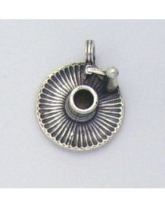 Sterling Silver Candle Holder Charm