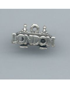 "Sterling Silver London Charm: "" London"" HH-951"
