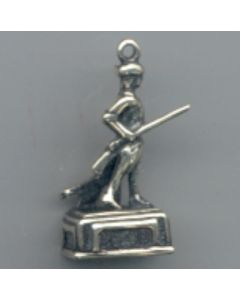Sterling Silver Minuteman Charm HHH-1909