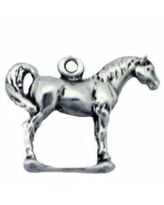 Sterling Silver Horse Charm: Statue HHH-1921