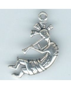 Sterling Silver Kokopelli Charm: Large  KK-1033