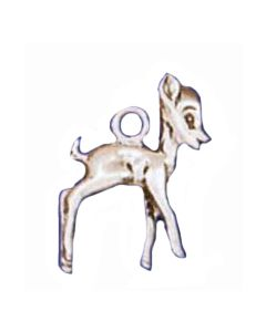 Sterling Silver Deer Charm: Fawn