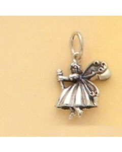 Sterling Silver Wizard Of Oz Charm: Good Witch