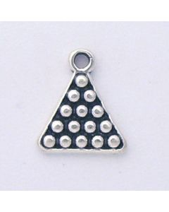 Sterling Silver Billiard/Pool Rack Charm