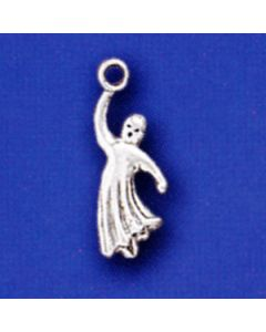 Sterling Silver Ghost Charm  LLL-2068