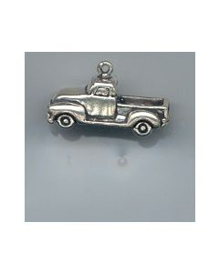Sterling Silver Truck Charm, Pickup Truck LLL-2075