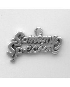 "Sterling Silver Special Charm: ""Someone Special"""