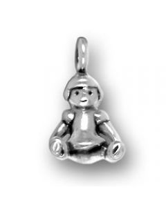 Sterling Silver Baby Doll Charm N-473