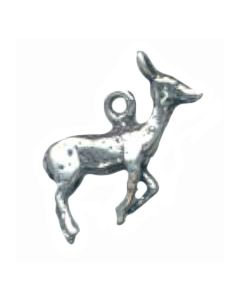 Sterling Silver Deer Charm: Doe