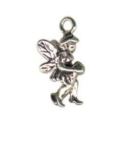 Sterling Silver Fairy Charm: Small