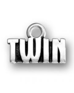 """Sterling Silver """"Twin"""" Charm RR-1225"""