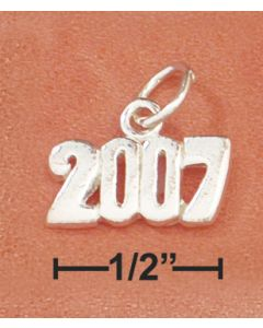 Sterling Silver Graduation 2007 Charm RRR-2226