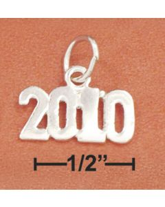 Sterling Silver Graduation 2010 Charm RRR-2229