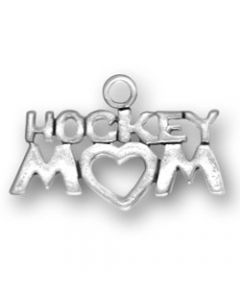 Sterling Silver Hockey Mom Charm SS-1264
