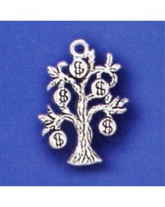 Sterling Silver Money Charm: Tree