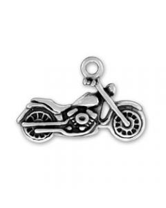 Sterling Silver Twilight Inspired Motorcycle Charm