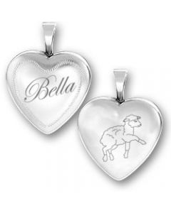 Sterling Silver Twilight Inspired Bella Lamb Locket