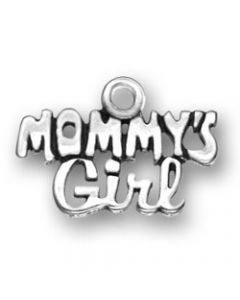 "Sterling Silver ""Mommy's Girl"" Charm"