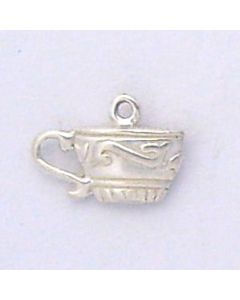 Sterling Silver Teacup Charm