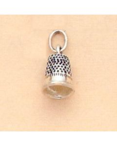 Sterling Silver Thimble Charm  W-747