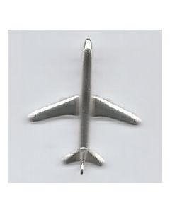 Sterling Silver Plane Airplane Charm Y-785