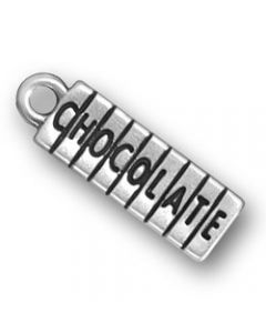 Sterling Silver Chocolate Charm